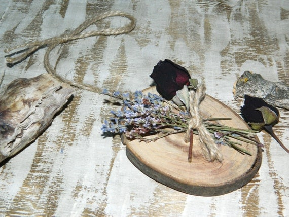 Wooden Flower's Decor-Valentines day gift-Real Rose Bud Lavender-wall hanging natural decor-shabby chic-pressed flowers art-Wood Love Gift