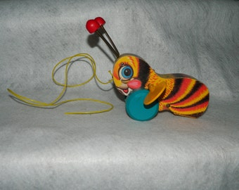 Vintage Fisher Price Buzzy Bee 1987 Limited Edition