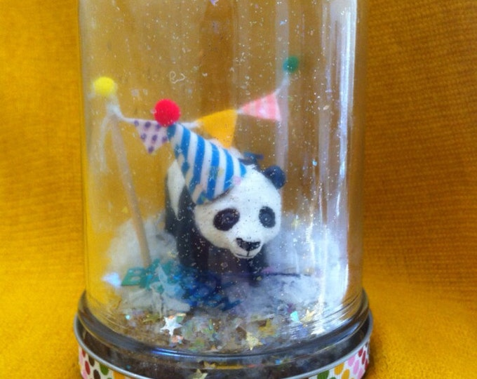 "Party Animal ""Snow Globe"" - Panda!"