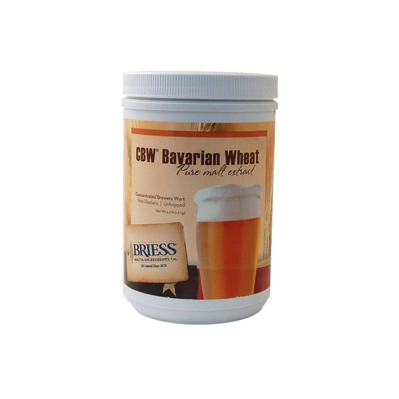 Briess BAVARIAN WHEAT Liquid Malt Extract LME For Beer Making 3.3 Lb Canister