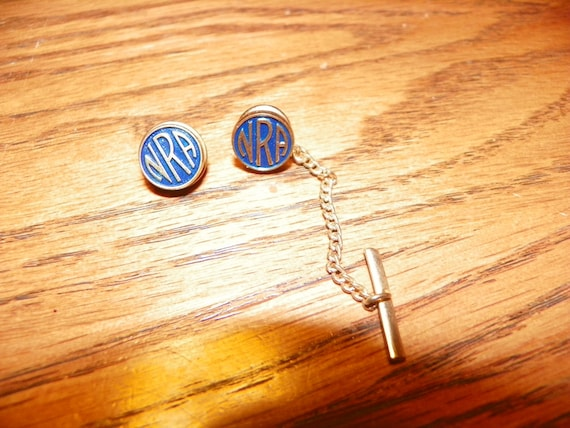 Vintage Nra National Rifle Association Tie Tack By
