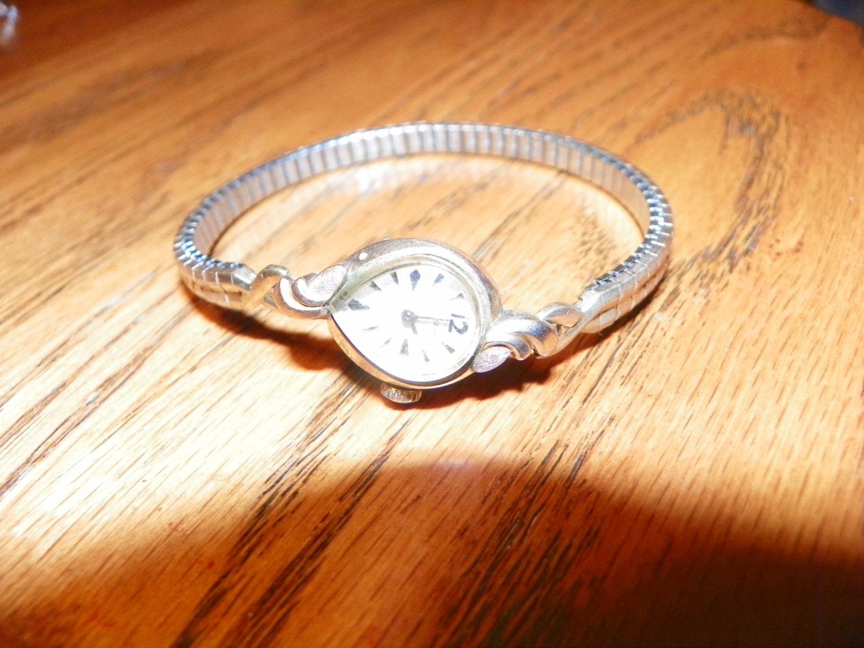 Antique Vintage Bulova 10K Rolled Gold Plate Watch