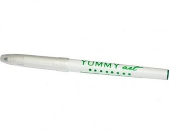 YummyArt Edible Pen Ink Marker (Green, Fine Tip)