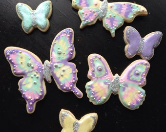 Jeweled Butterfly Cookies