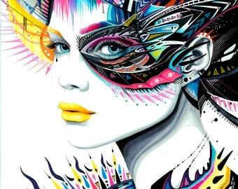 "Art Print ""In my Mind"""