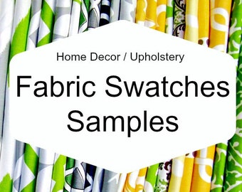 Fabric Swatch Sample pick FOUR, Choose up to 4 fabric samples --- Please read instructions