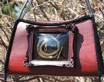 Upcycled Purse Mourning Purse Mourning Jewelry Victorian