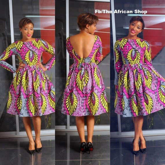 Ankara Short Dresses Designs