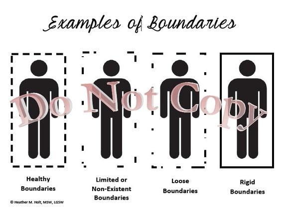 Unhealthy Boundaries Skills Worksheet – Setting Healthy Boundaries Worksheets