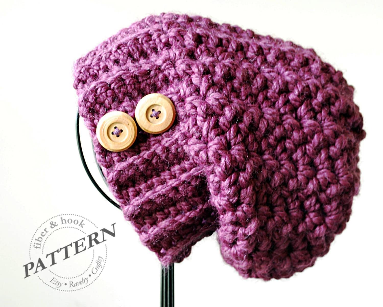 Crochet pattern boho chunky slouch beanie crochet chunky zoom bankloansurffo Gallery