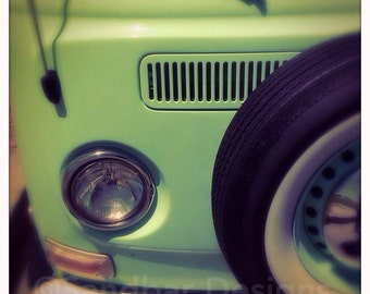 Mint chocolate chip VW bus