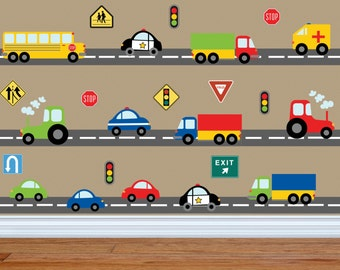 Lovely Truck Wall Decal   Construction Wall Decal   Car Wall Decal    Transportation Wall Decal