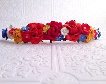 The Fire Goddess Floral Crown