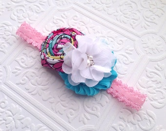 The Sunny Skies in the Garden Headband or Hair Clip