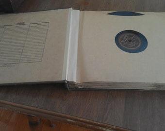 Vintage Record Book