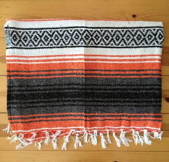 Mexican Falsa Yoga Pilates Blanket By Waterandjewel On Etsy