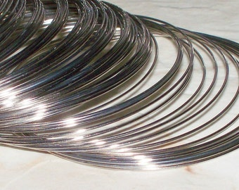 50/100 Loops Stainless Steel Memory Wire