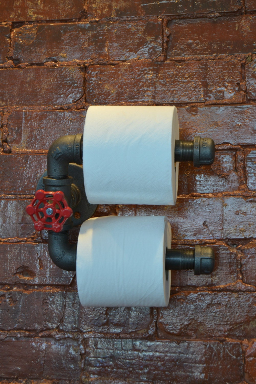 Toilet Paper Holder TP Holder Bathroom Decor Industrial