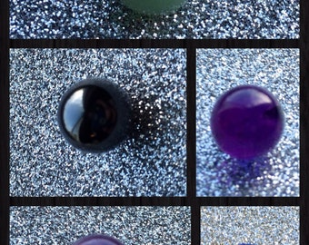 One Marble 10mm for Interchangeable Ring or Pendant