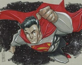 Superman Original Sketch
