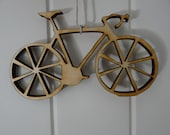 Reclaimed Wood Bicycle Ornament