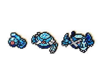 Pokemon Perler - Beldum / Metang / Metagross