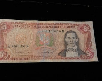 Paper Money - Real Bills - 4 Different Bills
