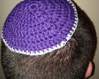 Crocheted Yarmulkes for your Special Event (Set of 10)