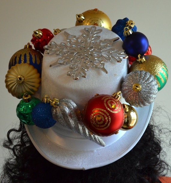 Ugly christmas hat ornament