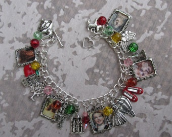 Wizard of Oz Picture Charms Bracelet
