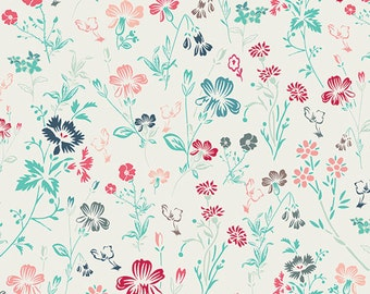 Pat Bravo for Art Gallery Fabrics, NouvElle Ditsy Radiance Fabric 1/2 Yard