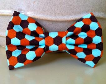 Dog Bow Tie- Geometric Pattern