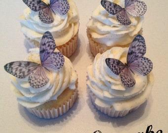 Purple Edible Butterflies