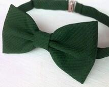 beliebte artikel f r dark green bow tie auf etsy. Black Bedroom Furniture Sets. Home Design Ideas