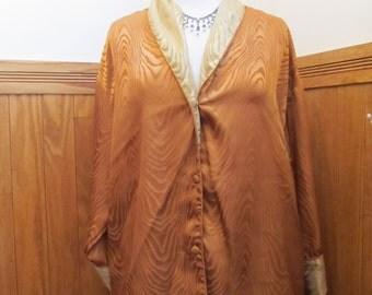 SALE SALE -Vintage Satin Pajama Set - 1X