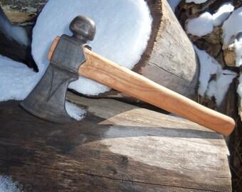Handmade Wooden Tomahawk