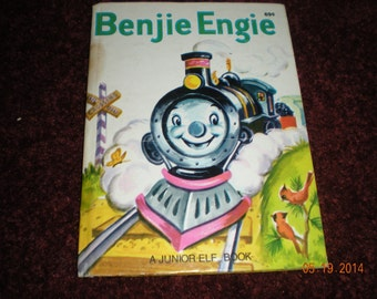 Benjie Engie A Junior Elf Book *8025 Rare in Good Vintage Condition