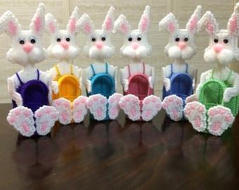 Bunny jellybean baskets