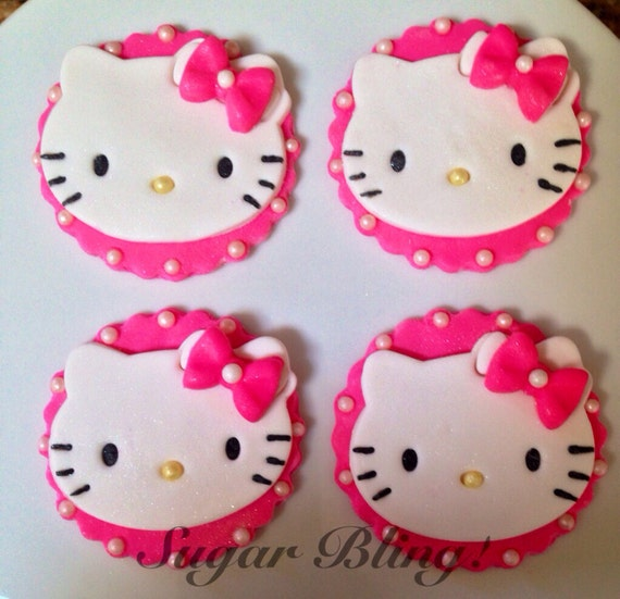 hello kitty cake topper unavailable listing on etsy 4783
