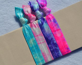 Color Vibe Tie Dye Hair Ties