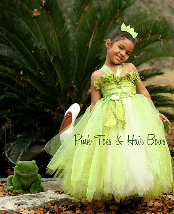 Princess Tiana Dress: Princess Tiana Dress Princess And The Frog Costume Princess