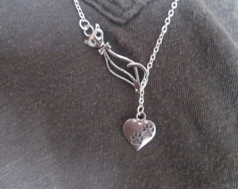 Cat Lover Necklace - Lariat Style
