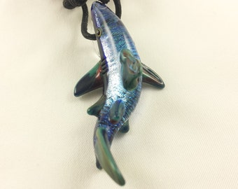 Shark - Glass Necklace