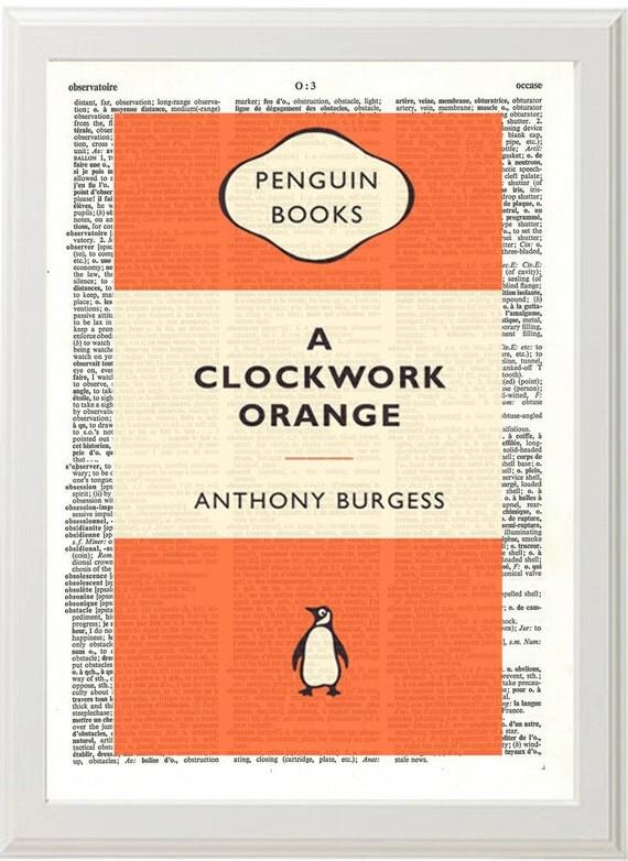 CLOCKWORK Orange Penguin Classics Anthony Burgess by PigAndGin