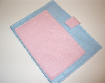 Felt Board to Go, great to have with felt sets - Light Blue and Light Pink