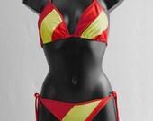 Bikini Spanish flag
