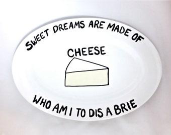 Sweet Dreams Brie Cheese Platter