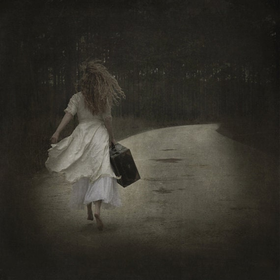 Runaway - LIMITED EDITION, Matted Print, Surreal, Whimsical, Fine Art Photography