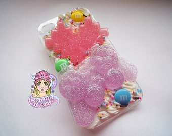 Iphone 4/4s decoden phone case game/sweet themed