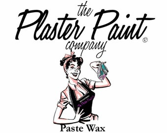 Waxes and Glazes for use with Plaster Paint by the Plaster Paint Company
